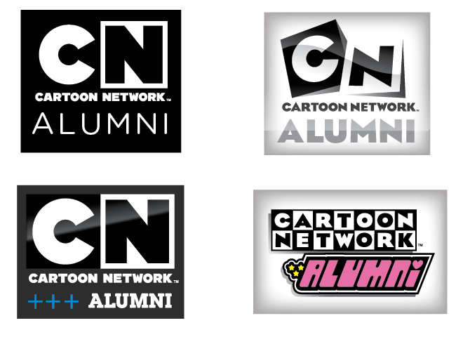 Cartoon Network Alumni Logos Jayro Design Illustration
