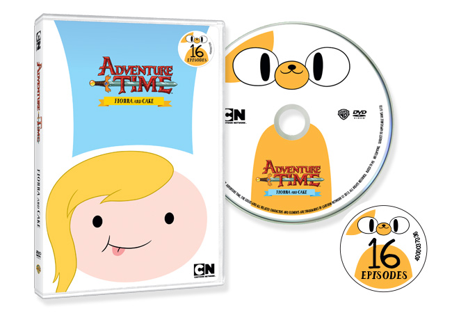 Jayro Design Fionna & Cake Adventure Time DVD illustration design