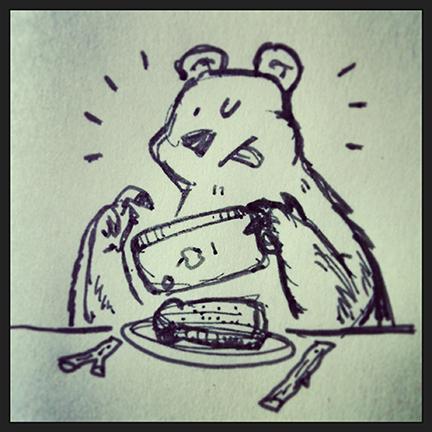 instagram bear jayrodesign twitter doodle jayro