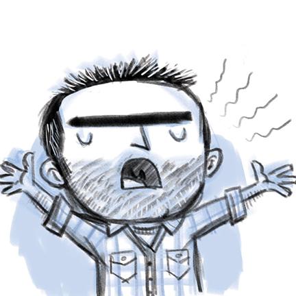 jayro twitter doodle singing jayrodesign