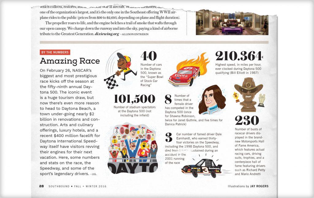 Jayro Southbound Magazine NASCAR